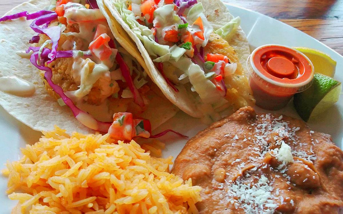 Hand-Breaded Fish Tacos